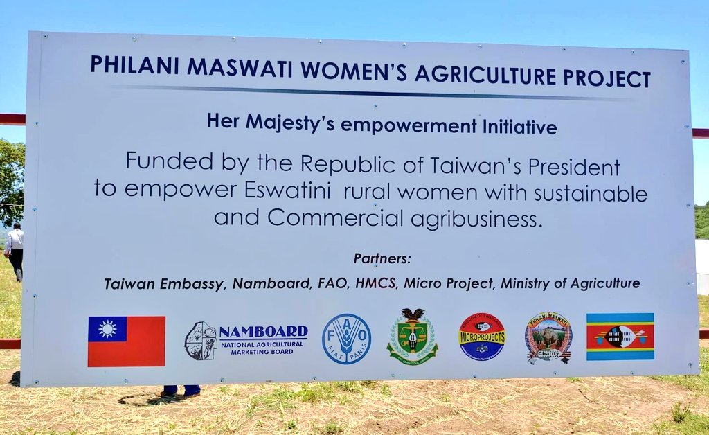 During @iingwen's state visit to the Kingdom of #Eswatini, she told Her Majesty the Queen Mother #TaiwanCanHelp empower rural women by partnering in a greenhouse project. 8 months later, Amb. Liang launched the trailblazing initiative in fine style. Promises made, promises kept.