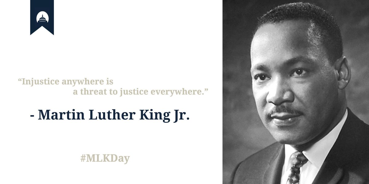 Today we honor the life and immeasurable legacy of Dr. Martin Luther King Jr. #MLKDay