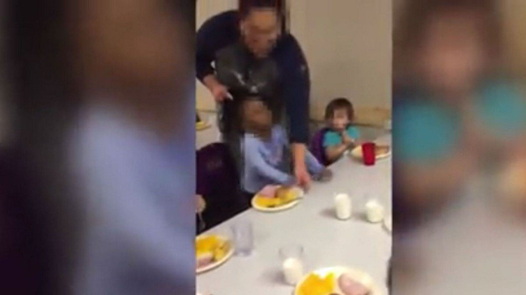 Shocking video shows woman pulling child's hair at day care https://t.co/63eZvj0hw4