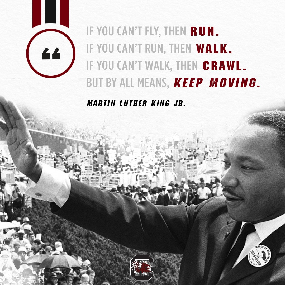 Honoring a legend. #MLKDay | #Gamecocks