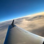 It is always sunny at the right altitude. #mondaymotivation #WingView