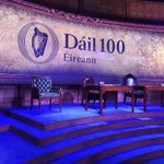 Image for the Tweet beginning: #Dáil100 - the final preparations