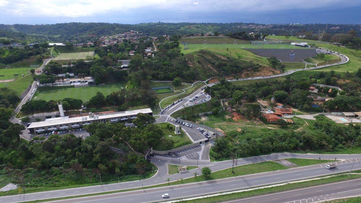 Cidade do Galo será o primeiro CT ecologicamente sustentável do Brasil https://t.co/7PGWu5f00u