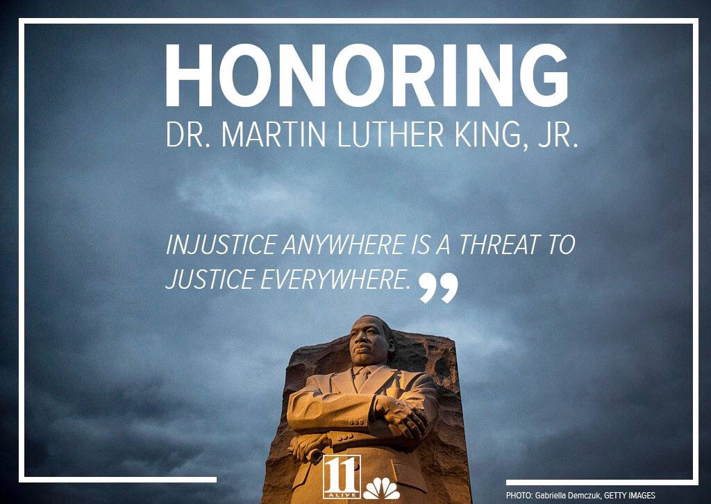 Grateful for the work and legacy of Dr. King. Happy Martin Luther King, Jr. Day!