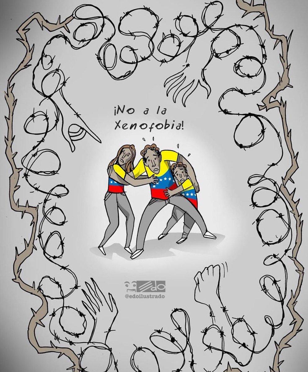 El femicidio es un crimen grave y su responsable debe pagar ante la justicia, pero no debe desatar la persecución contra un pueblo entero. Los venezolanos somos gente noble, las autoridades ecuatorianas deben exigir el cese de la persecución y ataques contra nuestra gente #DDHH