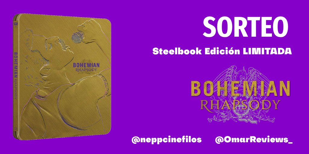 #SORTEO   No os quedéis sin la edición extendida limitada #BohemianRhapsody #Bluray