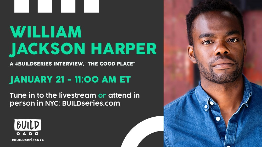Hey #TheGoodPlace fans: we'll be live with @dubjackharper at 11AM ET on https://t.co/M8xULp80xC!