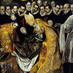 Image for the Tweet beginning: El Greco's moody and expressive