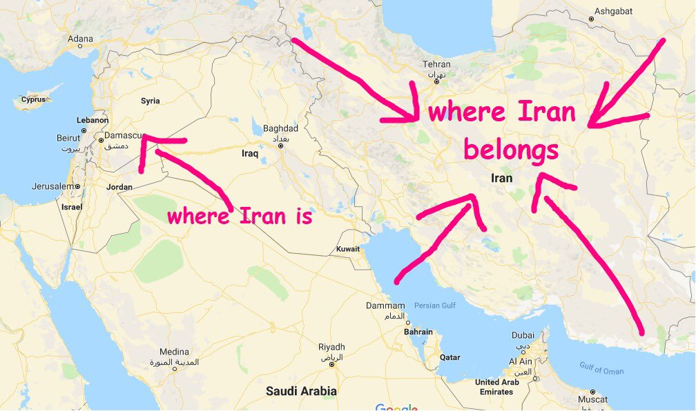 Iran, you seem to be lost. Here: