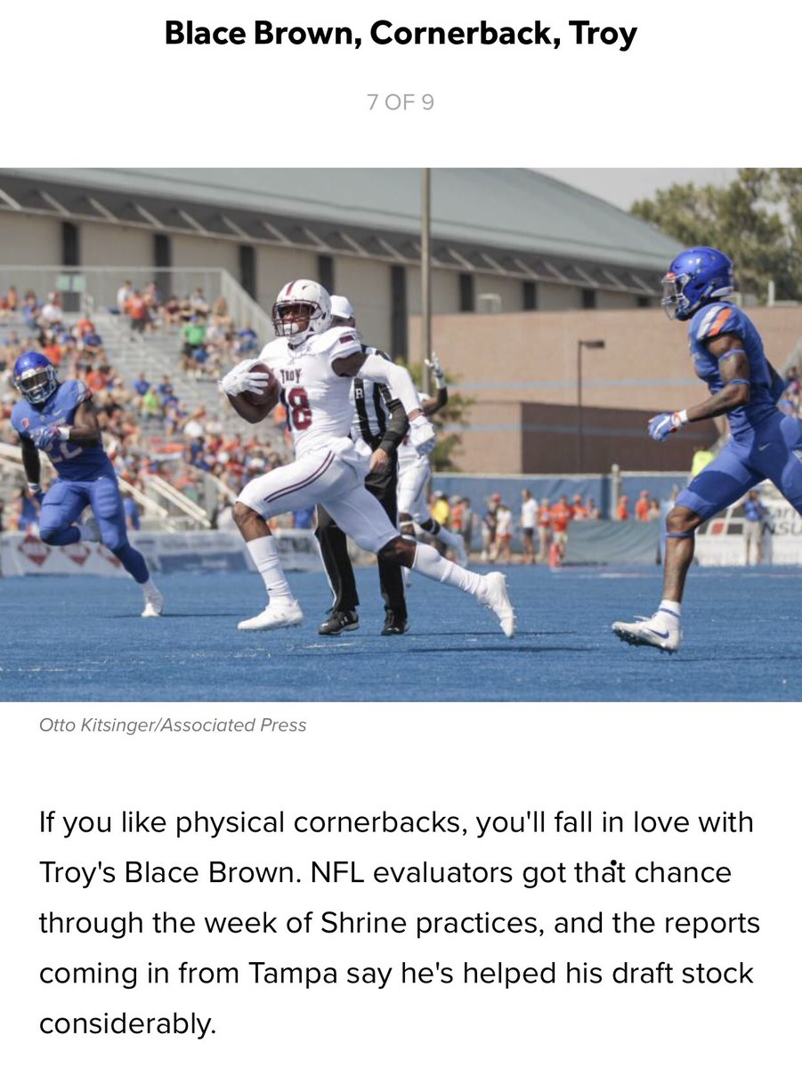 We see you @blacebrown 😤 bleacherreport.com/articles/28162…