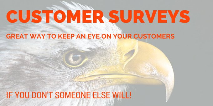 #bizhour Engage with your customers ask us about customer surveys Photo