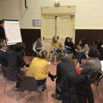 Restitution de l'enquête sur les parcours scolaires et échanges avec les professionnels de l'éducation de @ChanteloupLV, en présence de @VincentLena62, @leszebres et l'@Essec_Egalite. En route vers la #citééducative ! @CUGPSEO @villeetbanlieue @Les_Yvelines @Prefet78 @l_amf
