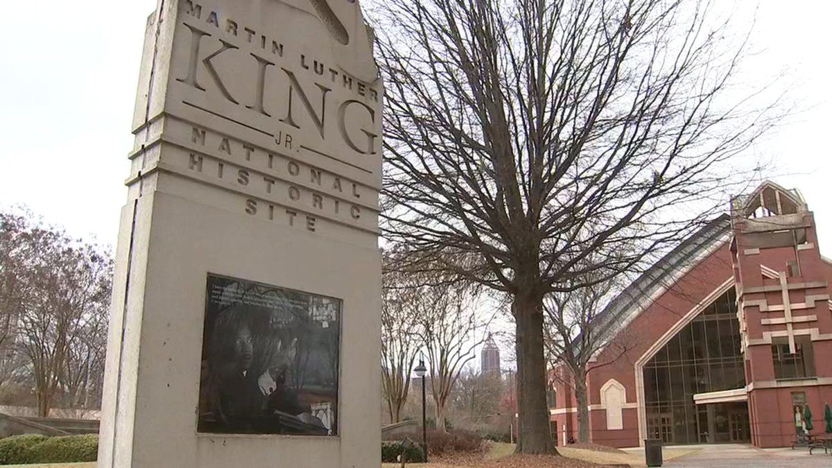 Atlanta's Martin Luther King Jr. National Park reopens in time for #MLKDay https://t.co/hikDuPFsbF