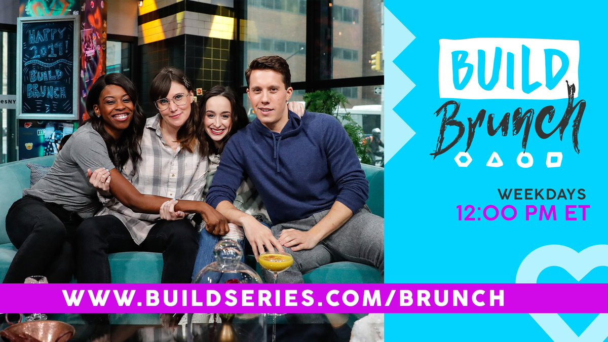 Tune in to #BUILDBrunch at 12PM ET when @HeatherDubrow & @DrDubrow join the table! ☕️🍳🥂 https://t.co/a5YY1CqPI5