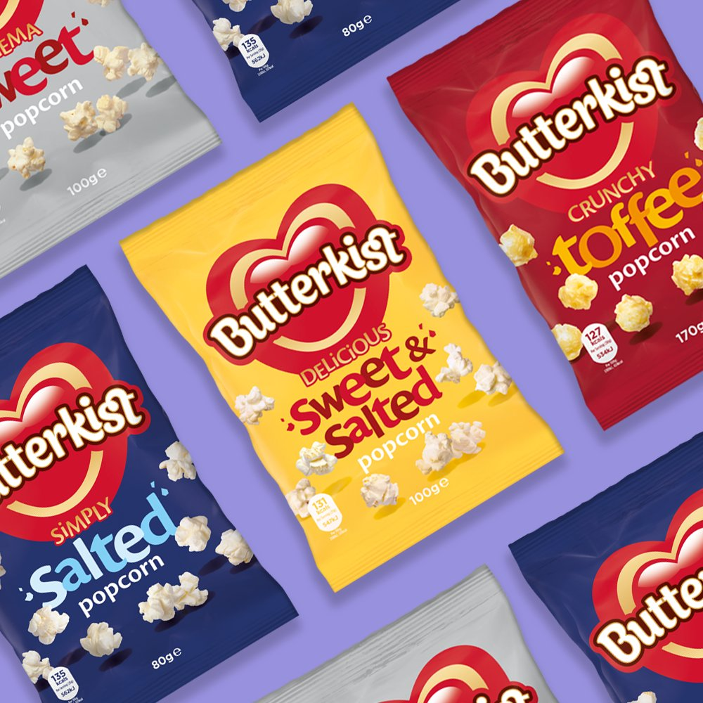 We've got a cure for #BlueMonday right here!   For your chance to win FIVE BAGS of Butterkist popcorn, simply follow us and retweet this post!! 😊🎉  T&Cs apply, 18+: http://ow.ly/RcKw30nonkT  #giveaway #win