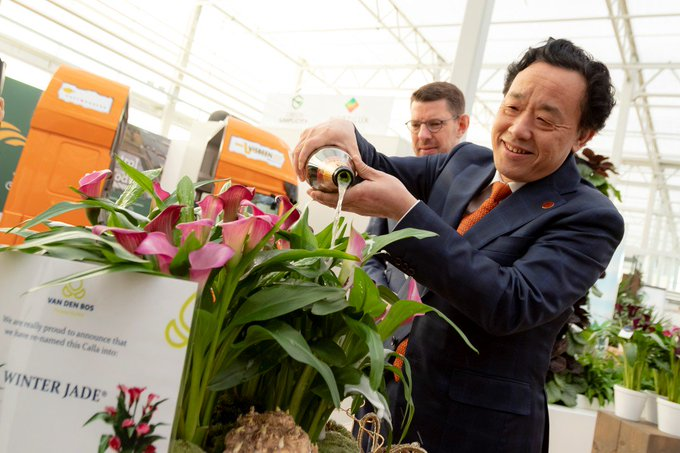 Chinese landbouwminister bezoekt World Horti Center https://t.co/7aJjWzyAWK https://t.co/RNx6BOZ3HL