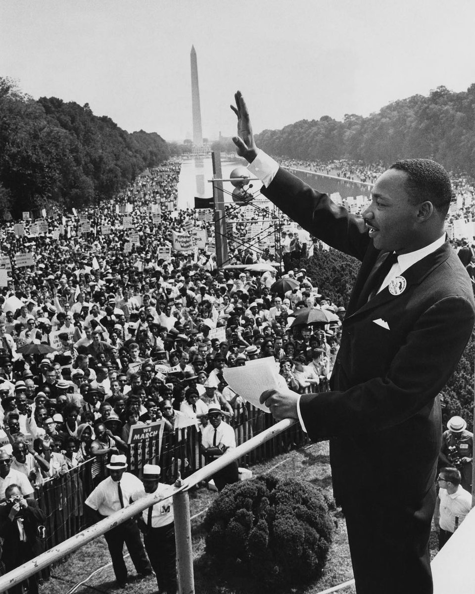 Today, we honor his legacy.  #MLKDay