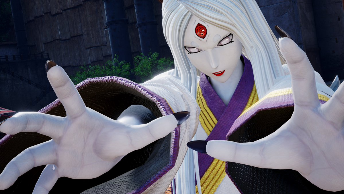 Kaguya Ōtsutsuki, the Mother of Chakra, will be unleashing her power in #JUMPFORCE!  Get ready for the biggest battle on Earth coming February 15th! Pre-order today: https://t.co/tpmTsX45av