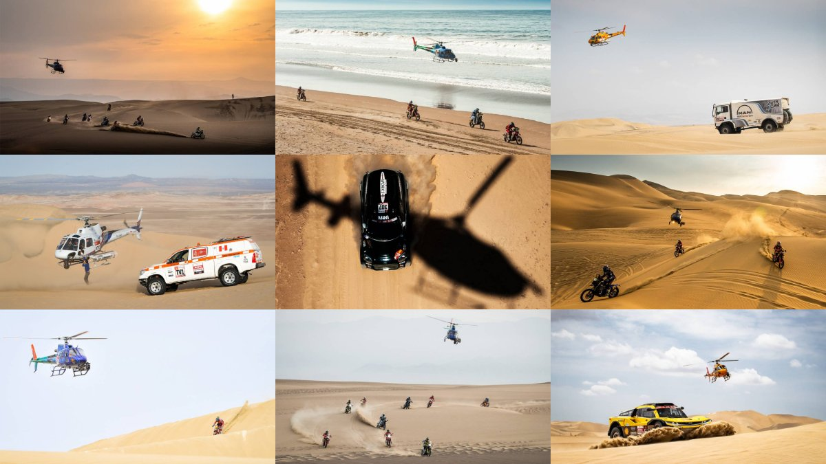 #Dakar2019 : Another great year at the #RallyDakar. Take a look at some of the #H125 photo highlights! Images: All right reserved - Source @dakar <br>http://pic.twitter.com/5bfxCgTJtl