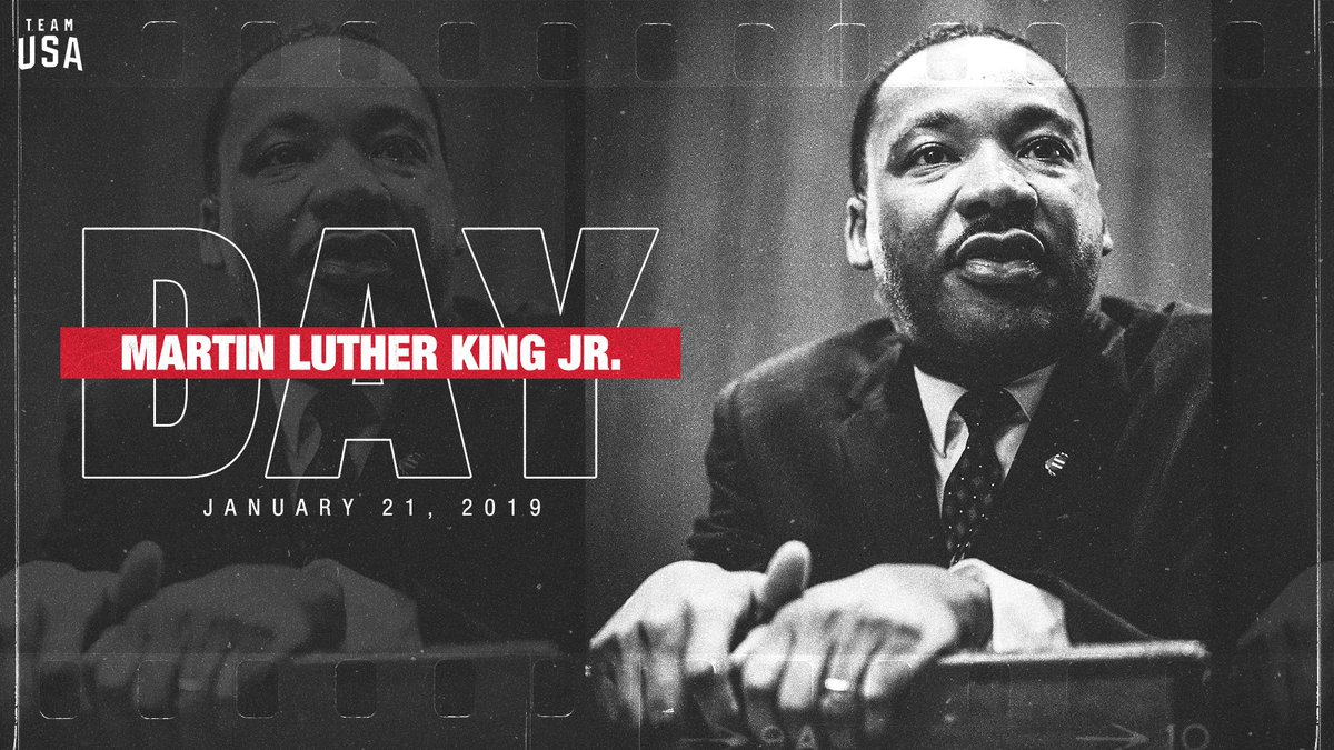 Today we celebrate the life and legacy of Dr. Martin Luther King Jr. #MLKDay