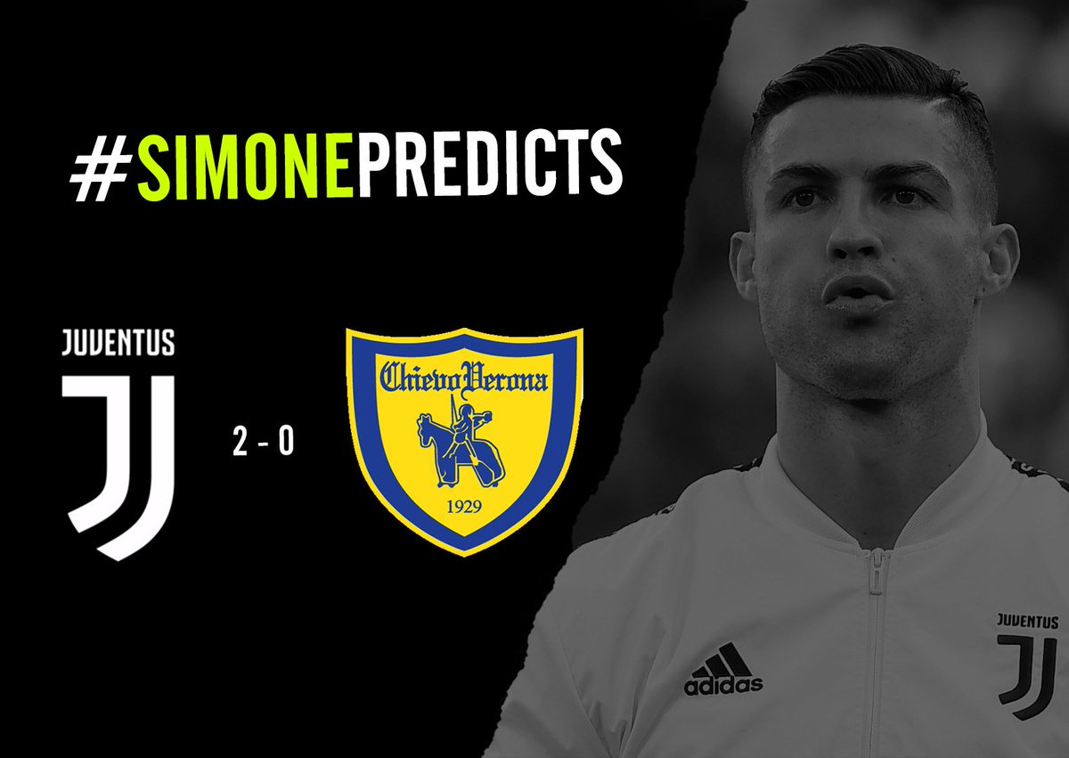 #ForzaJuve ⚫️⚪️  I'm going for a comfortable victory this evening 💪🏽  What are your predictions?  #SimonePredicts