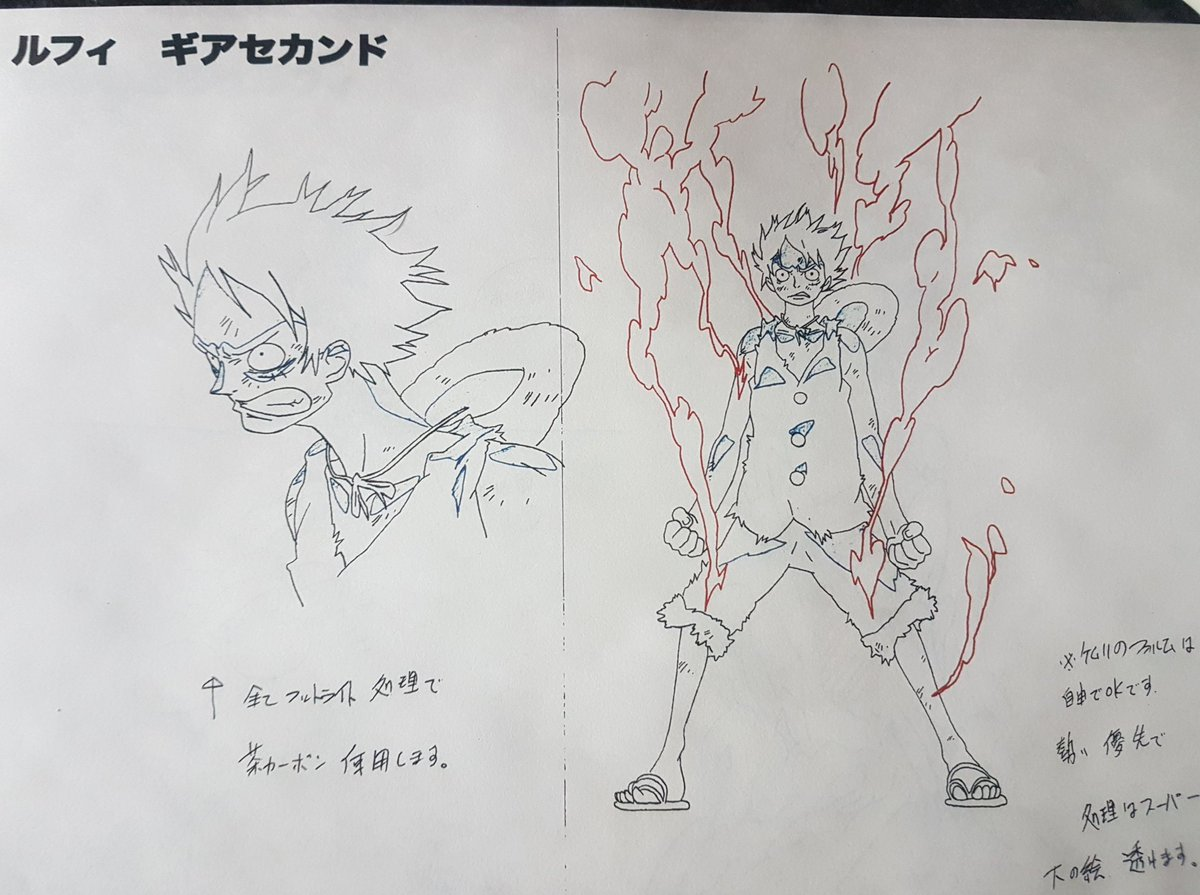 One Piece Movie 9 Episode of Chopper settei sheets