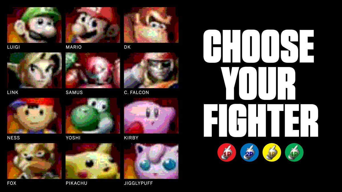 The original Super Smash Bros. came out 20 years ago today. Who was your go-to fighter? https://t.co/g6DXS7Q7YO