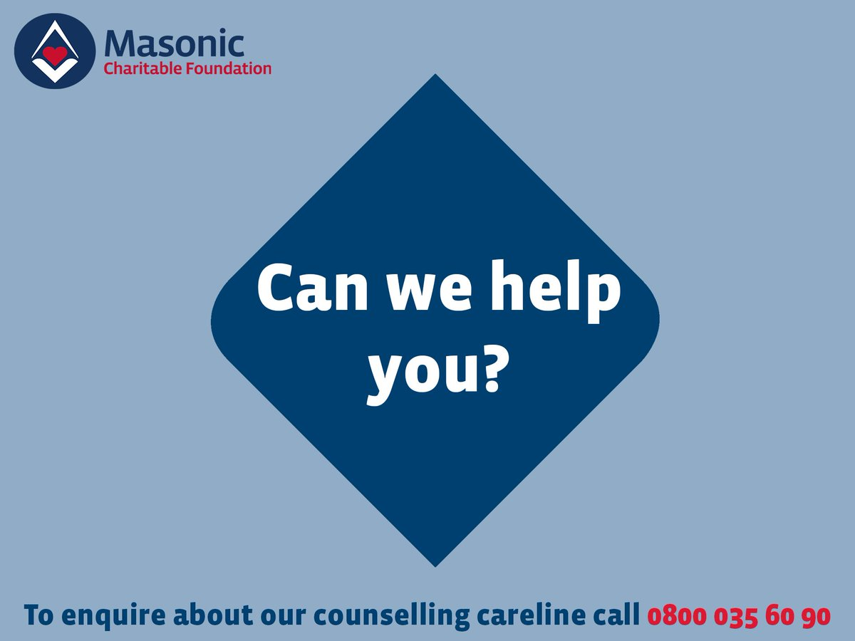 test Twitter Media - #BlueMonday might be a myth, but stress, anxiety and depression certainly aren't. Our Counselling Careline is here to support freemasons and their families who are struggling to cope and need someone to talk to. Find out more >> https://t.co/r7lvN1b9fF https://t.co/PjmANNXgeu