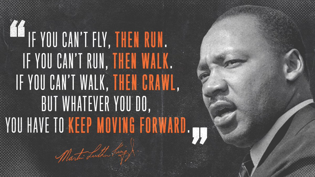 Today we celebrate and honor the life and legacy of Dr. Martin Luther King, Jr.  #MLKDay