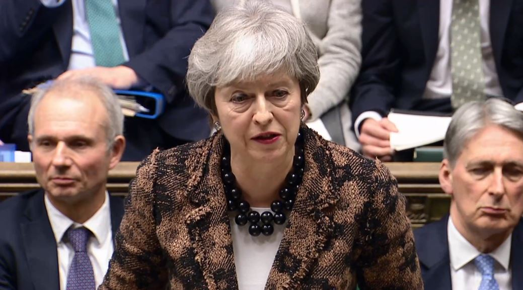 Theresa May proposes how she plans to proceed with Brexit. Watch live: https://t.co/xFkMybunro
