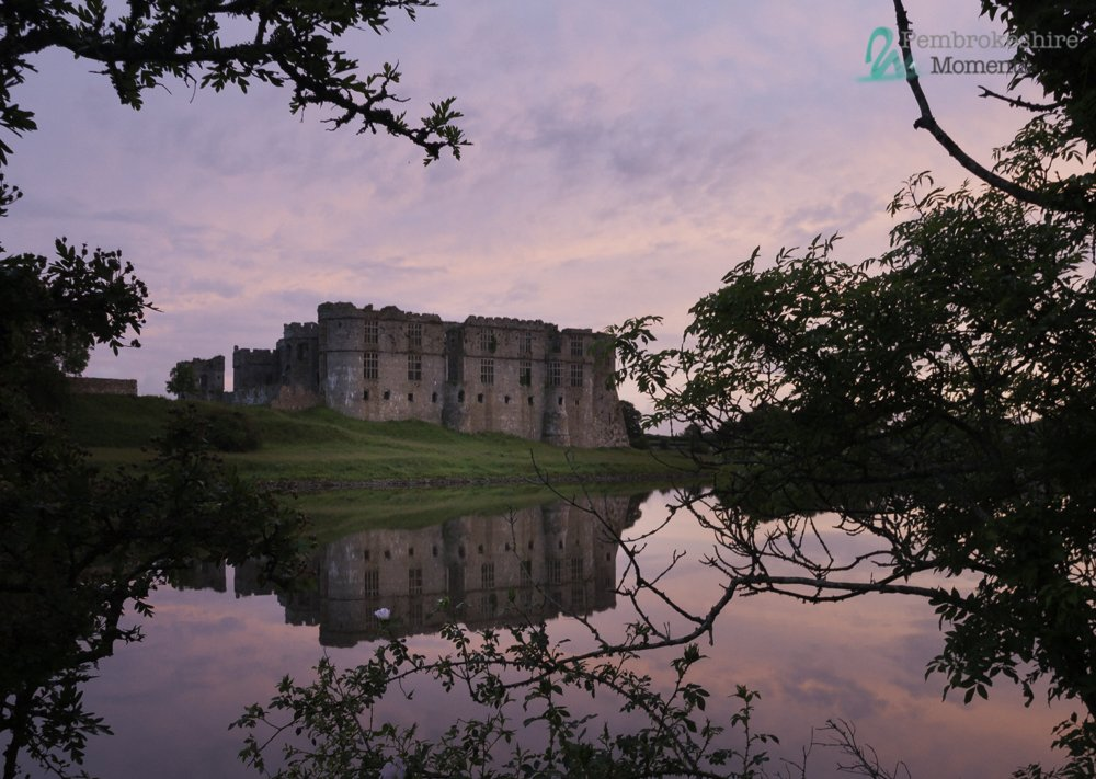 Busy editing for this year and came across the beautiful Carew Castle @PembsCoast