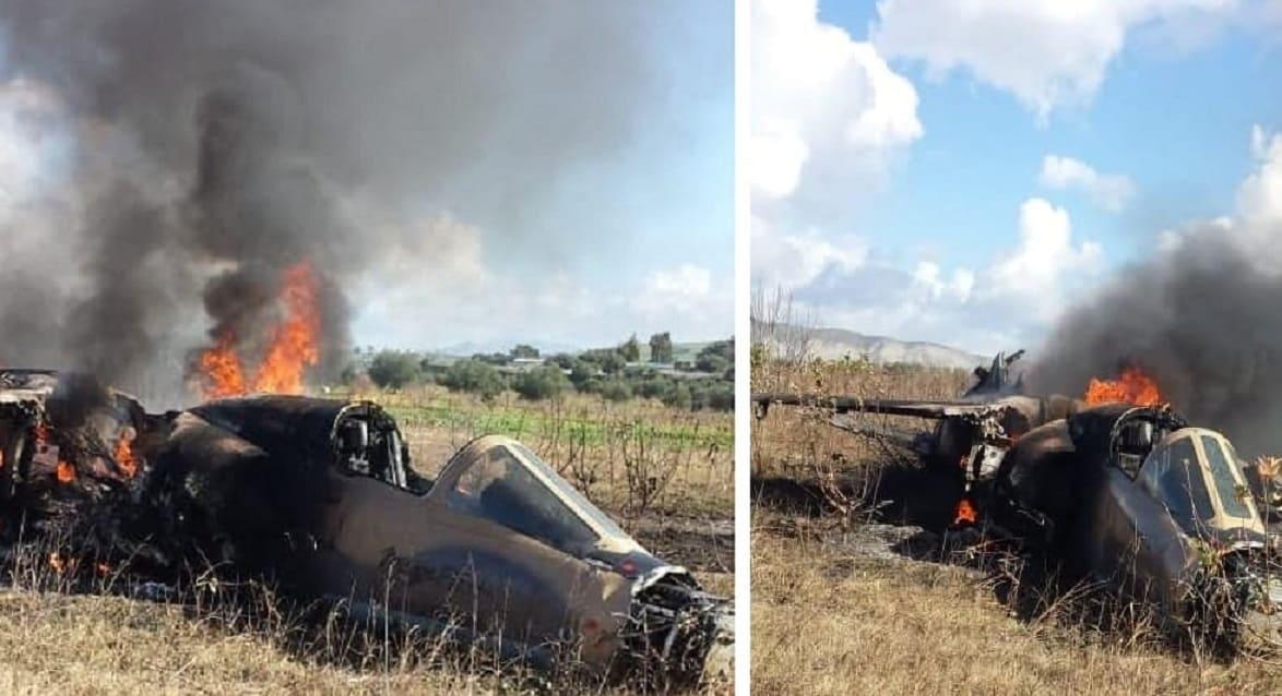 """تحطم طائرة """"ميراج"""" تابعة لسلاح الجو المغربي Dxcic00XcAASxg7"""