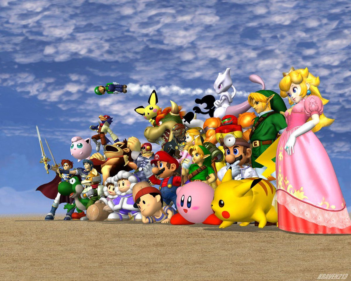 Super Smash Bros. came out 20 years ago today 🎮