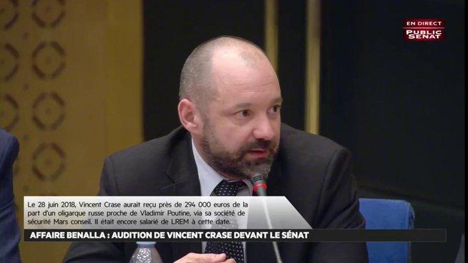 Affaire Alexandre Benalla : 12 000 € par mois pour un contrat avec un oligarche russe sulfureux DxcjFa4VYAE58qg?format=jpg&name=small