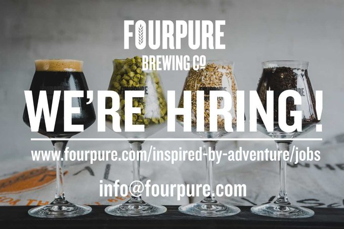 Image for We're out on the hunt for new and amazing people to join us on our adventure!  We have a huge range of roles that need filling, so if you're hard working, enthusiastic and have a love of craft beer, we'd love to hear from you!  https://t.co/Dt0vfhU1ZD htt