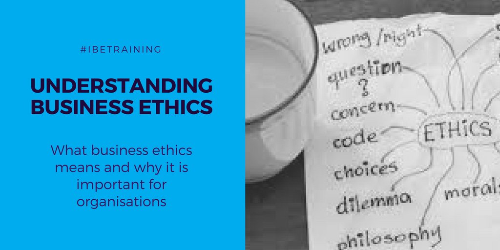 business ethics test questions