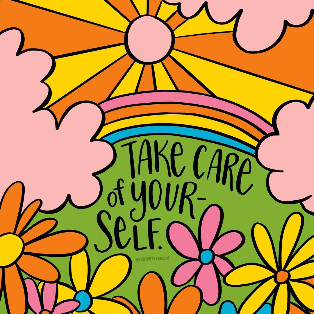 """As January draws to a close, it's good to remember that taking time out for #SelfCare is important for your #wellbeing."" Thank you @positivelypresent for this uplifting reminder. 🌸"