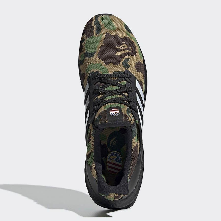 7809138ff09 BAPE x adidas Ultra Boost Style Code  F35097 Release Date  February 2