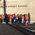 Image for the Tweet beginning: PAL students from Olive St.