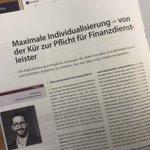 """Image for the Tweet beginning: """"Maximale #Individualisierung – von der"""
