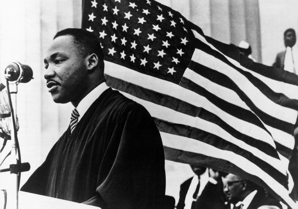 Martin Luther King showed us that we are more alike than we are different. It's wonderful. (It's a fact.)