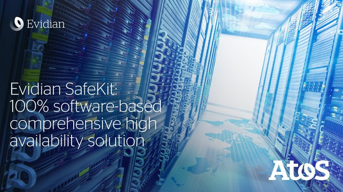 Discover how our new #Evidian SafeKit enables enterprises to implement business continuity for...
