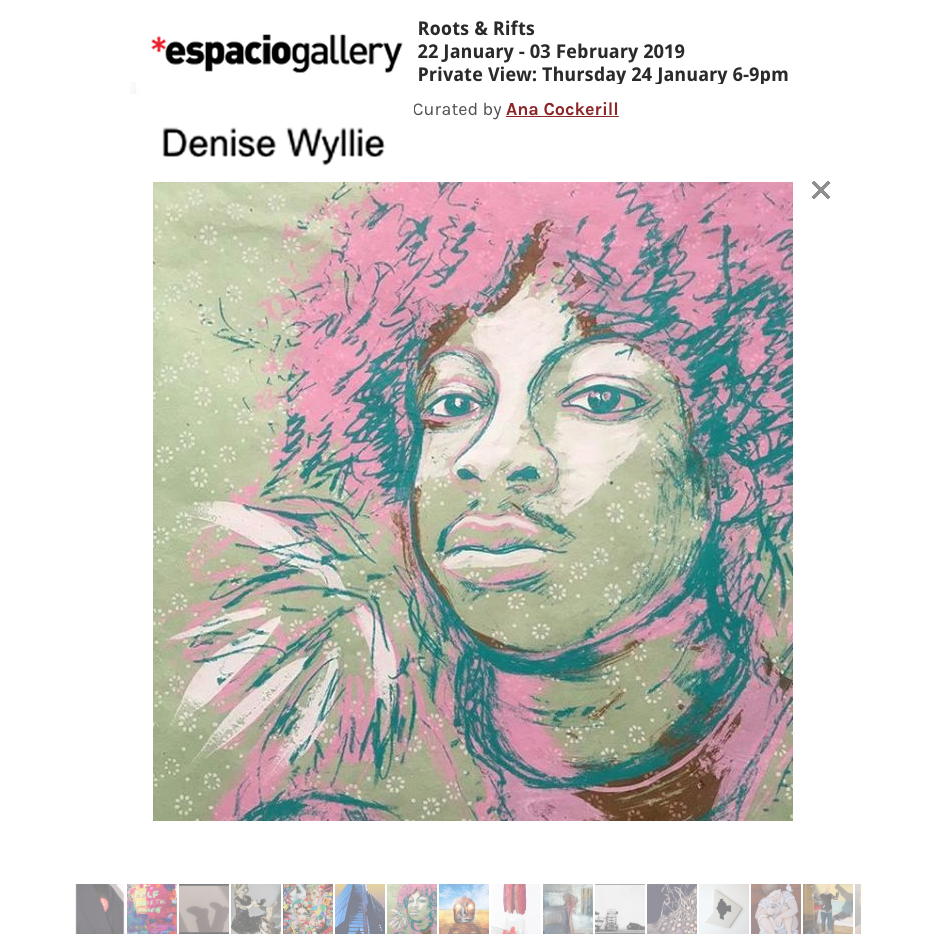 Denise Wyllie artist screen prints for sale Espacio Gallery, Shoreditch London PV PARTY- 24 Jan 6-9 Art lovers welcome @Cartelux #portrait #artist #prints #silkscreen @GardenMuseumLDN @ldnprintstudio #original @Hahnemuehle_UK @thackeraygall @DulwichGallery http://www.wyllieohagan.com