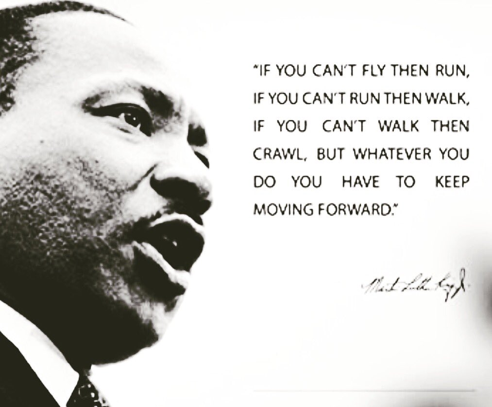 Happy MLK Day! Here's to a man who understood the power of a voice guided by love and purpose.