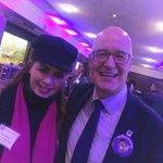 #LisaDawnMiller and the President of @nyuniversity, #AndrewHamilton #NYU #NYULA #OliverRichman #NYU2022 #NYUTisch @NYUTischSchool 💜 @OliverRichman11