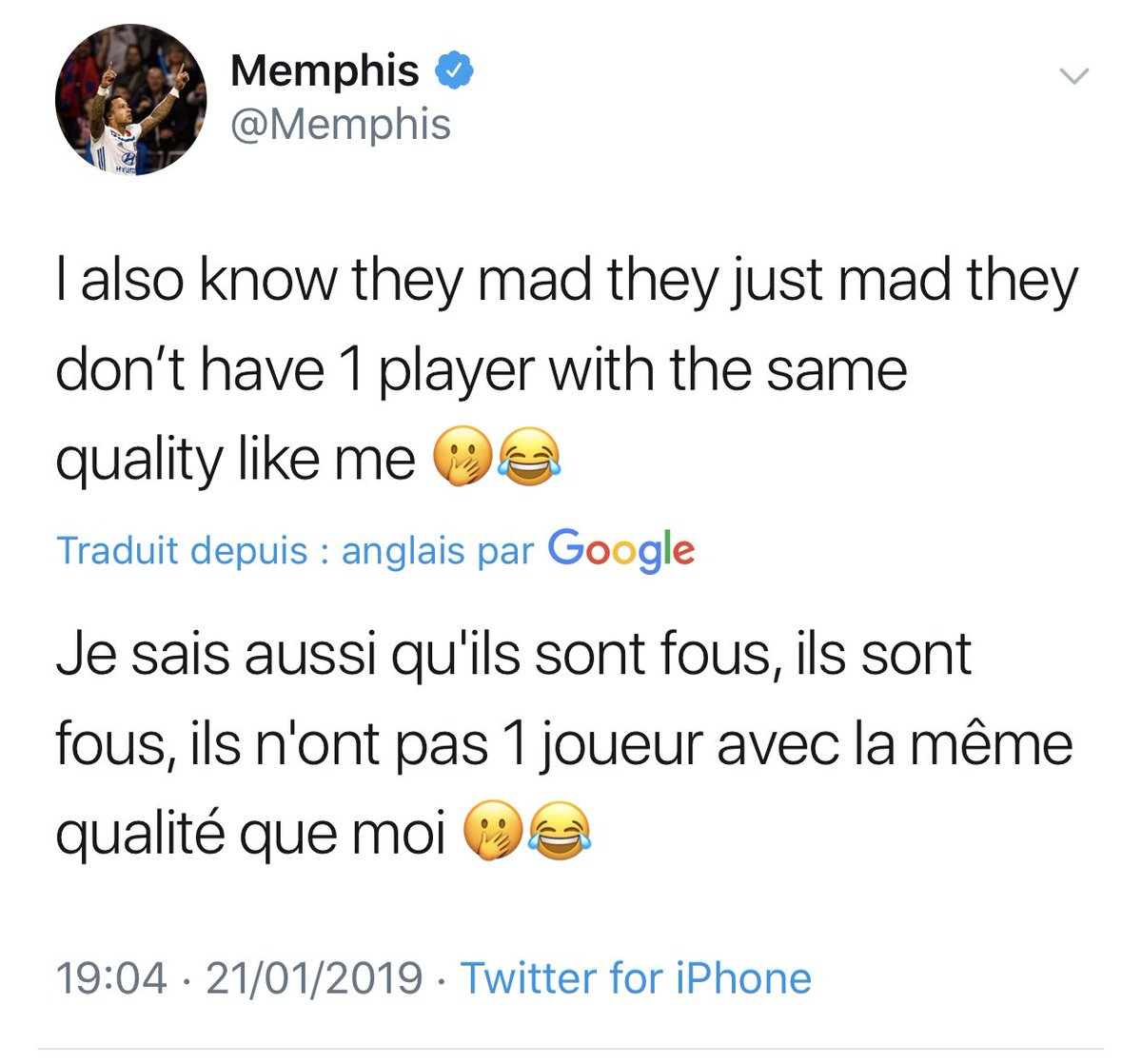 La réponse de Memphis face à la banderole stéphanoise. 👀