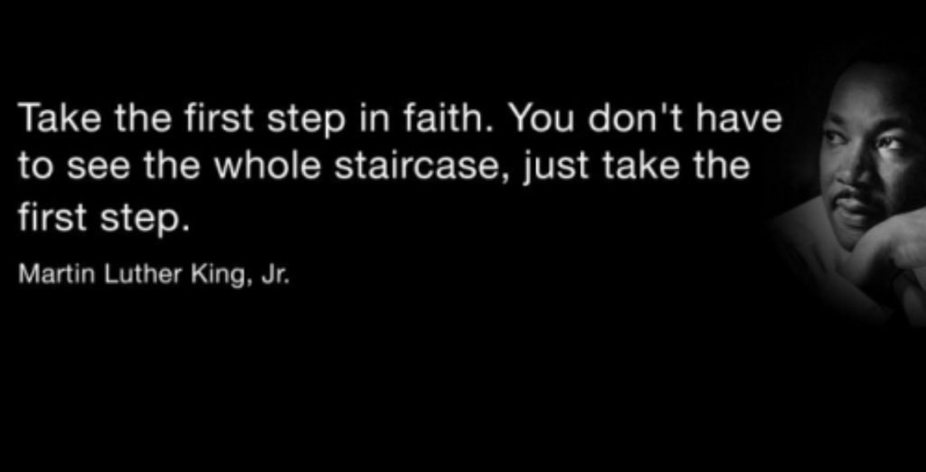My favorite thing about MLK is he was faith based & came from a place of love...  #MLKDay