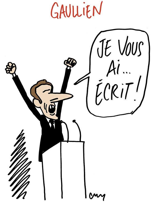 RT @m_cambon: #Macron #LettreMacron #DeGaulle #GrandDebatNational #GiletsJaunes (Merci à mes lecteurs attentifs!) https://t.co/Z6m5LhsAPd