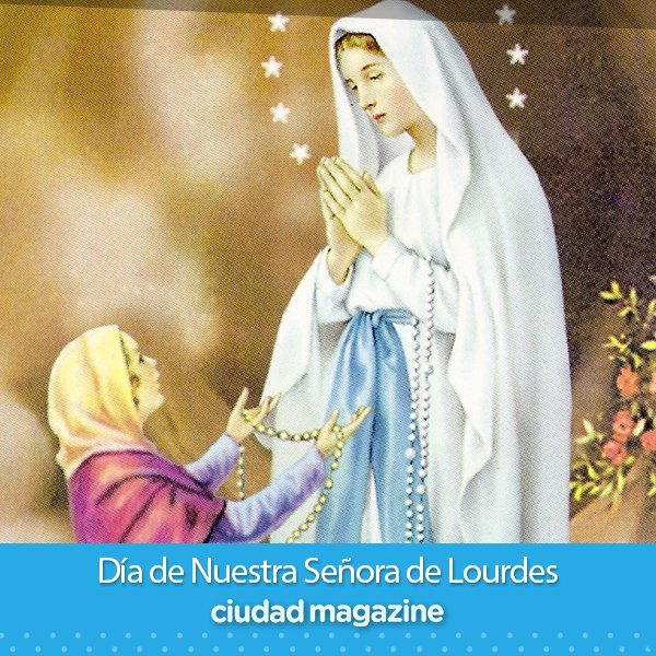 Ciudad Magazine's photo on Virgen de Lourdes