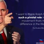 Image for the Tweet beginning: Thank you @VP for believing